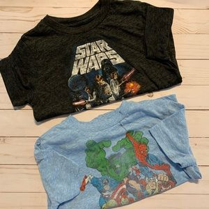 Set of TWO Boy Tees